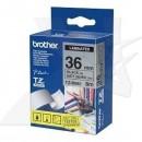 Brother originální páska do tiskárny štítků, Brother, TZE-M961, černý tisk/stříbrný podklad, laminovaná, 8m, 36mm