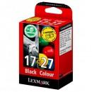 Lexmark originální ink 80D2952, #17+27+, black/color, Lexmark Z33, Z13, Z25, Z35, Z617, X1190