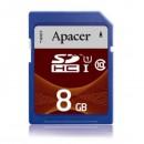 Apacer paměťová karta Secure Digital, 8GB, SDHC, AP8GSDHC10U1-R, UHS-I U1 (Class 10)