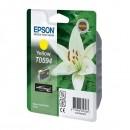 Epson originální ink C13T059440, yellow, 13ml, Epson Stylus Photo R2400