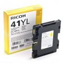 Ricoh originální gelová náplň 405768, yellow, 600str., GC41Y, Ricoh AFICIO SG 3100, SG 3110
