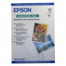 Epson Archival Matte Paper, bílá, 50, ks C13S041344, pro inkoustové tiskárny, 297x420mm (A3), A3, 192 g/m2
