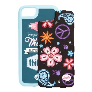 Kryty na iPhone 7, barevné, TPU, PC, Dress Me Indi, 2v1, Smile