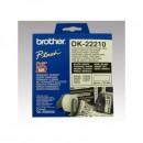 Brother papírová role 29mm x 30.48m, bílá, 1 ks, DK22210, pro tiskárny štítků