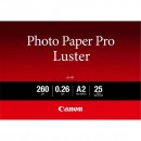 "Canon LU-101 Photo Paper Luster, foto papír, lesklý, bílý, A2, 16.54x23.39"", 25 ks, 6211B026"