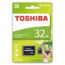 Toshiba paměťová karta M102, 32GB, micro SDXC, SDU32GSDHC4M102M2TR, Class 4, s adaptérem