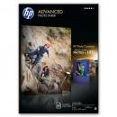 HP Advanced Glossy Photo Paper, foto papír, lesklý, zdokonalený, bílý, A4, 250 g/m2, 50 ks, Q8698A, inkoustový