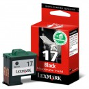 Lexmark originální ink 10NX217E, #17+, black, 235str., Lexmark Z13, Z23, Z33, Z25, Z35
