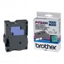 Brother originální páska do tiskárny štítků, Brother, TX-751, černý tisk/zelený podklad, laminovaná, 8m, 24mm