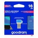Goodram USB flash disk OTG, 3.1/3.1 Typ C, 16GB, ODD3, modrá, ODD3-0160B0R11
