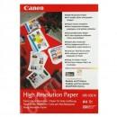 Canon High Resolution Paper, foto papír, speciálně vyhlazený, bílý, A4, 106 g/m2, 200 ks, HR-101 A4, inkoustový