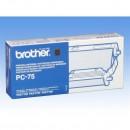 Brother originální fólie do faxu PC75, 1*140s, Brother Fax T-104, T-106
