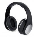 Genius HS-935BT, sluchátka s mikrofonem, ovládání hlasitosti, černo-stříbrná, bluetooth