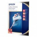 "Epson Ultra Glossy Photo Paper, foto papír, lesklý, bílý, R200, R300, R800, RX425, RX500, 13x18cm, 5x7"", 300 g/m2, 15 ks, C13S0419"