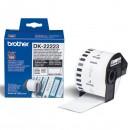 Brother papírová role 50mm x 30.48m, bílá, 1 ks, DK22223, pro tiskárny štítků