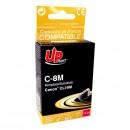 UPrint kompatibilní ink s CLI8M, magenta, 14ml, C-8M, pro Canon iP4200, iP5200, iP5200R, MP500, MP800, s čipem