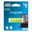Goodram USB flash disk, 2.0, 16GB, UMO2, zelený, UMO2-0160G0R11