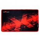 Podložka pod myš, Red Fighter, herní, černo-červená, 36 x 26 x 0.4 cm