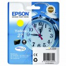 Epson originální ink C13T27044010, 27, yellow, 3,6ml, Epson WF-3620, 3640, 7110, 7610, 7620