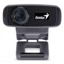 Genius Web kamera VideoCam FaceCam 1000X, 1 Mpix, USB 2.0, černá, pro notebook/LCD