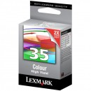 Lexmark originální ink 18C0035E, #35XL, color, 450str., Lexmark Z815, Z818, X5250, 5260, 5210, P915, P6250