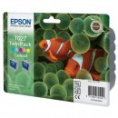 Epson originální ink C13T027403, color, 220str., 46ml, 2ks, Epson Stylus Photo 810, 830, 925, 935