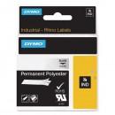 Dymo originální páska do tiskárny štítků, Dymo, 622290, černý tisk/průhledný podklad, 5.5m, 19mm, RHINO permanentní polyesterová D