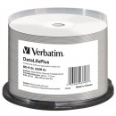Verbatim BD-R, Single Layer Wide White Thermal Printable, 25GB, cake box, 43743, 6x, 25-pack, pro archivaci dat
