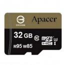 Apacer paměťová karta Secure Digital, 32GB, micro SDHC, AP32GMCSH10U4-R, UHS-I U3, s adaptérem