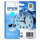 Epson originální ink C13T27024010, 27, cyan, 3,6ml, Epson WF-3620, 3640, 7110, 7610, 7620
