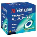 Verbatim 43428, DataLife, 10-pack, 800 Extra Protection, 40x, 90min., CD-R, 12cm, bez možnosti potisku, jewel box, Standard, pro a