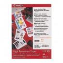 Canon High Resolution Paper, foto papír, speciálně vyhlazený, bílý, A4, 106 g/m2, 50 ks, HR-101 A4/50, inkoustový
