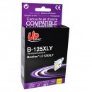 UPrint kompatibilní ink s LC-125XLY, yellow, 1200str., 15ml, B-125XLY, pro Brother MFC-J4510 DW