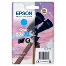 Epson originální ink C13T02W24010, 502XL, T02W240, cyan, 470str., 6.4ml, Epson XP-5100, XP-5105, WF-2880dwf, WF2865dwf