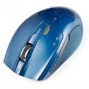 E-Blue Myš ARCO 2, 2 ks AAA, 2.4 [GHz], optická, 6tl., 1 kolečko, bezdrátová, modrá, 1800DPI, NANO přijímač