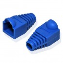 Ochranná krytka RJ45, modrá, cena za 1ks, balení po 100ks, s bublinkou