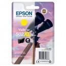 Epson originální ink C13T02W44010, 502XL, T02W440, yellow, 470str., 6.4ml, Epson XP-5100, XP-5105, WF-2880dwf, WF2865dwf