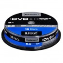 Intenso DVD+R, 4381142, 10-pack, 8,5GB, 8, 12cm, Standard, cake box