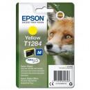 Epson originální ink C13T12844012, T1284, yellow, 3,5ml, Epson Stylus S22, SX125, 420W, 425W, Stylus Office BX305