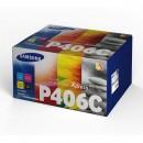 Samsung originální toner CLT-P406C, CMYK, 4500str., Samsung CLP-360, CLP-365, CLX-3300, CLX-3305