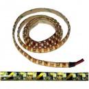 LED pásek 5m, 2700lm, studený bílý, IP44 (zalitý), 600xled, 3528, 3600mA, samolepící