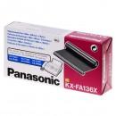 Panasonic originální fólie do faxu KX-FA136X, 2*100m, Panasonic Fax KX-F 1810, KX-FP 151, 152, 245, KXFM 205, 220