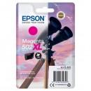 Epson originální ink C13T02W34010, 502XL, T02W340, magenta, 470str., 6.4ml, Epson XP-5100, XP-5105, WF-2880dwf, WF2865dwf