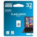 Goodram USB flash disk, 2.0, 32GB, UPI2, bílý, UPI2-0320W0R11