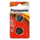 Baterie lithiová, CR2016, 3V, Panasonic, blistr, 2-pack, cena za 1 ks baterie