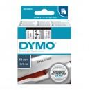 Dymo originální páska do tiskárny štítků, Dymo, 45800, S0720820, černý tisk/průhledný podklad, 7m, 19mm, D1