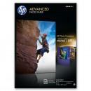 HP Advanced Glossy Photo Paper, foto papír, lesklý, zdokonalený, bílý, A4, 250 g/m2, 25 ks, Q5456A, inkoustový