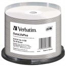 Verbatim DVD-R, 43755, DataLife PLUS, 50-pack, 4.7GB, 16x, 12cm, Professional, Advanced Azo+, cake box, Wide Thermal Printable, pr