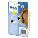 Epson originální ink C13T07144012, yellow, 405str., 5,5ml, Epson D78, DX4000, DX4050, DX5000, DX5050, DX6000, DX605