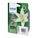 Epson originální ink C13T059540, light cyan, 13ml, Epson Stylus Photo R2400